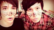 Xam as Dan and Phil
