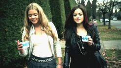 Alison and aria equal mona