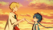 Magi-01-aladdin-alibaba-friendship-handshake-agreement-sunset