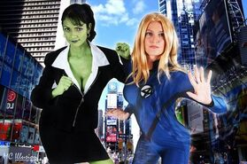 Sue storm and jennifer walters by ycdonohue-d6ilagp