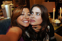 Lily-robin-himym