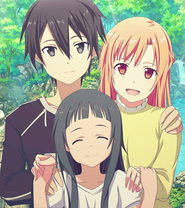 Kirito, Asuna and Yui