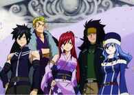Team Fairy Tail b squad omg