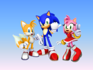 Sonic Tails Amy