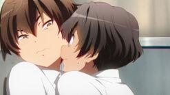 Makoto and Yuuta tho
