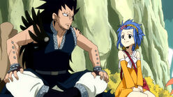 Gajeel and Levy cute