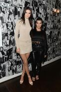 Kourtney and Kendall