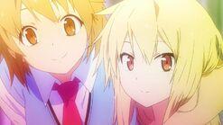 Shiina and Misaki