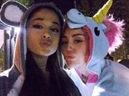 Ariana-grande-and-miley-cyrus-onesies