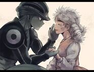Komugi and Meruem