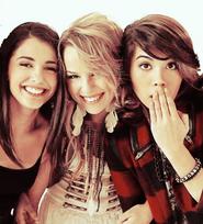 Olivia, Mo and Stella