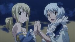 Lucy and Yukino
