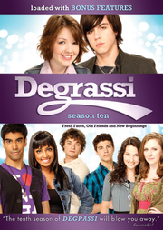 Degrassi Season 10 DVD cover