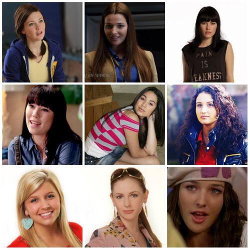 Alex Degrassi girls collage