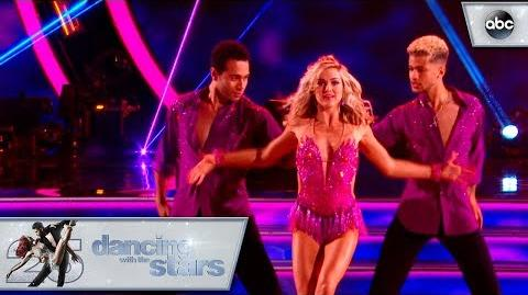 Jordan and Lindsay's - Trio Dance - Dancing with the Stars