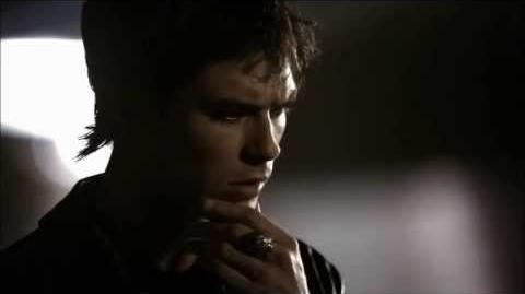 1x03 damon try to kiss elena and she slaps him-0