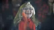 Maya cheering