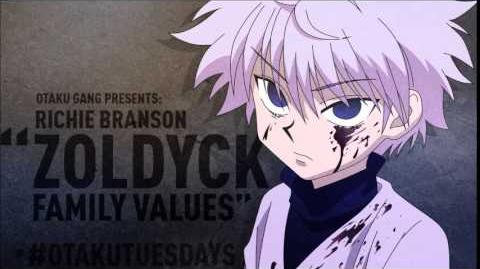 "@richiebranson Hunter x Hunter Rap - ""Zoldyck Family Values"" OtakuTuesdays"