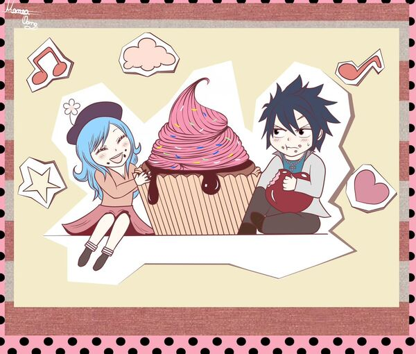 Gruvia and sweets