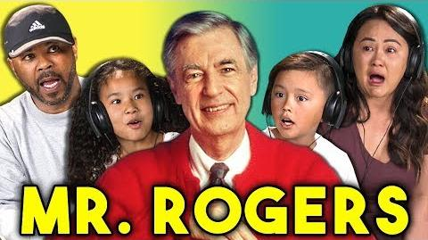 PARENTS KIDS REACT TO MR. ROGERS (Won't You Be My Neighbor? Trailer)
