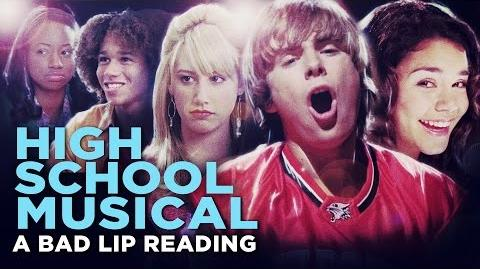 """HIGH SCHOOL MUSICAL A BAD LIP READING"" -- Bad Lip Reading and Disney XD Present"