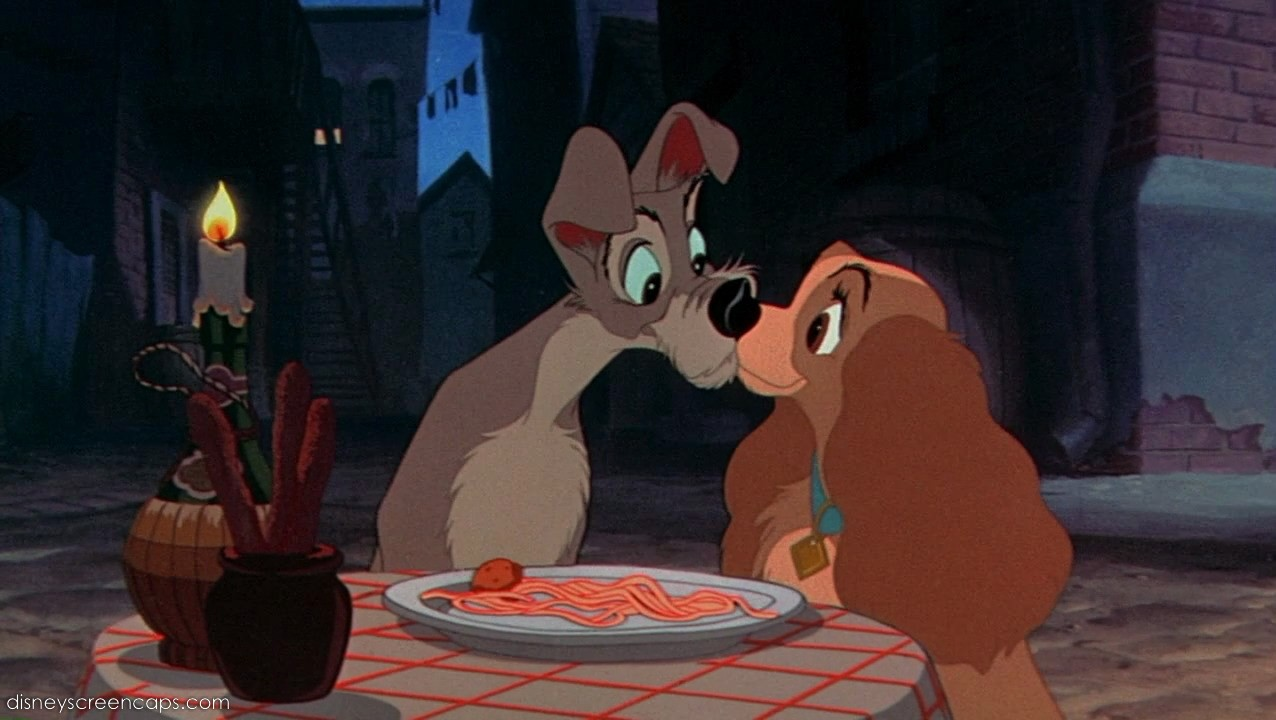 Image - Lady-Tramp-Kiss-(Lady and the Tramp).jpg | Degrassi Wiki ...