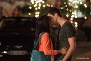 Alli and Leo Kiss