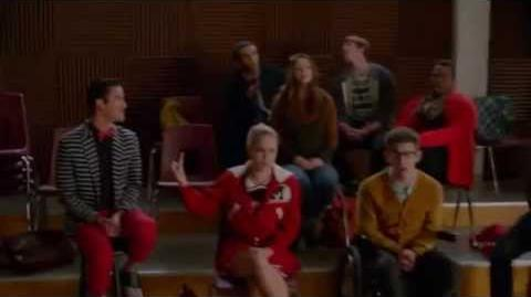 """SHUT UP BLAINE""- Glee"