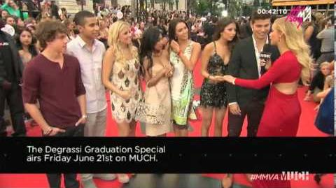 2013 MMVA Red Carpet - Degrassi Cast