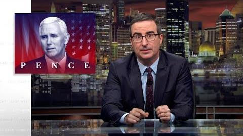 Mike Pence Last Week Tonight with John Oliver (HBO)