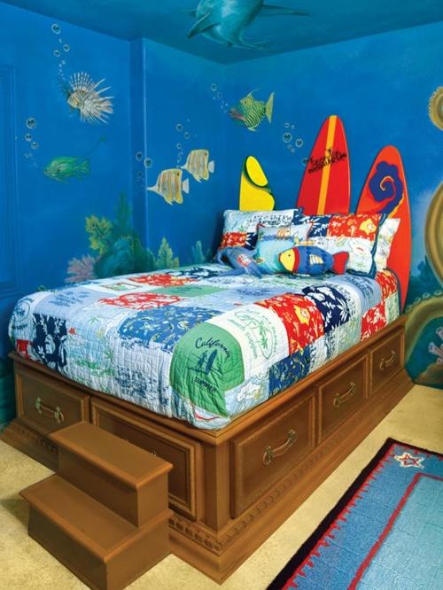 Image - Underwater-Ocean-Theme-Bedroom-Decor.jpg | Degrassi Wiki ...