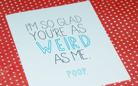 Image Weirdvalentinesdaycardjpg Degrassi Wiki – Weird Valentines Cards