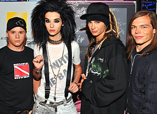 tokio hotel coloring pages - photo#21