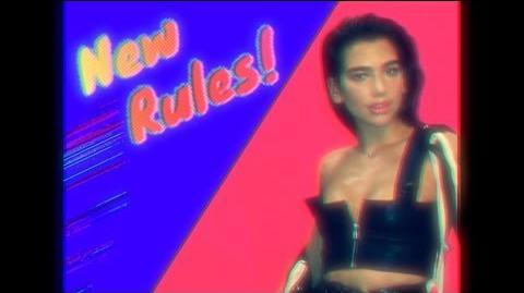 Dua Lipa - New Rules Initial Talk 80s Rules Remix @initialtalk