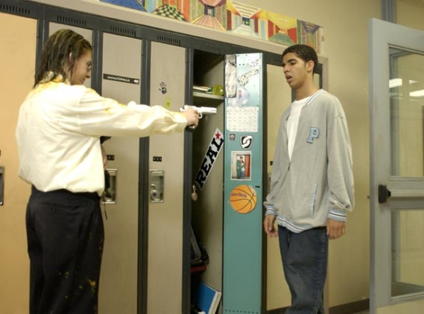 Rick pointing his gun at Jimmy will forever be known as one of the most  dramatic moments in Degrassi history.