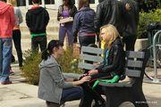 Katie consoles maya