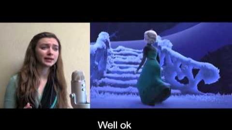 """Let It Go"" from Frozen according to Google Translate"