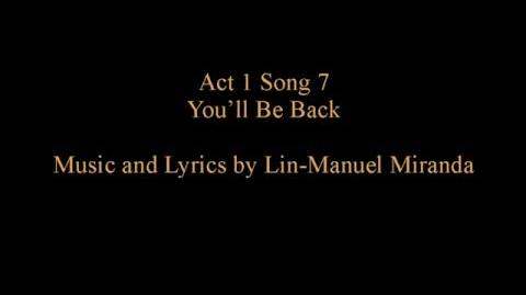 1.07 - You'll Be Back w lyrics