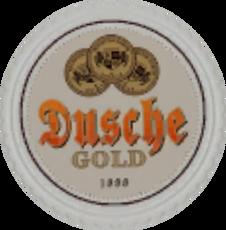 Dusche-Gold-Bierdeckel