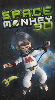 Space-Monkey-3D-Plakat