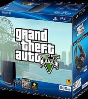 GTA V PS3 Superslim Bundle E3