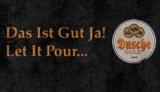 Dusche Gold Plakat IV