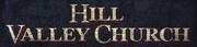 Hill-Valley-Church-Schild