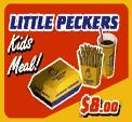 Little Peckers Kids Meal