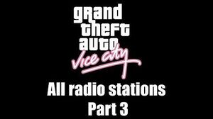 GTA Vice City - All radio stations Part 3 (Rev