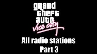 GTA Vice City - All radio stations Part 3 (Rev. 3)