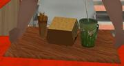 Mega-Rindfleisch-Burger, Burger Shot, SA