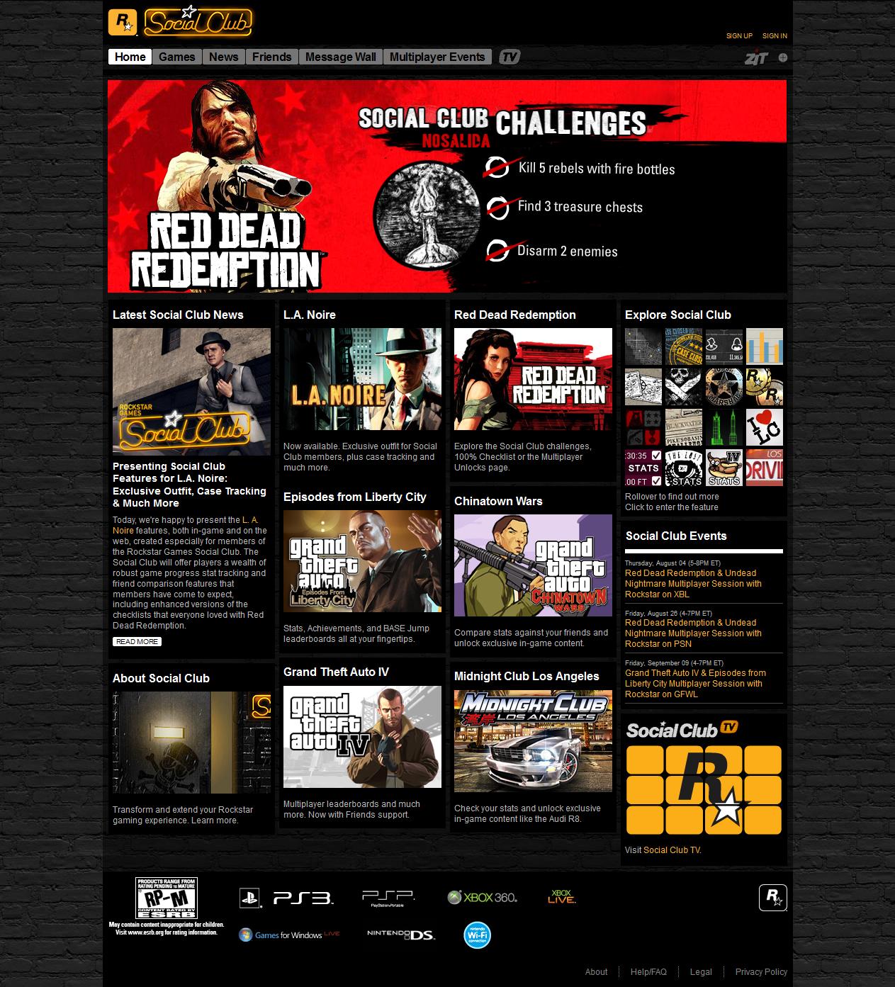 Rockstar Games Social Club | GTA Wiki | Fandom