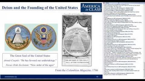 Deism & The Founding Of The United States