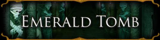 Emerald Tomb Banner